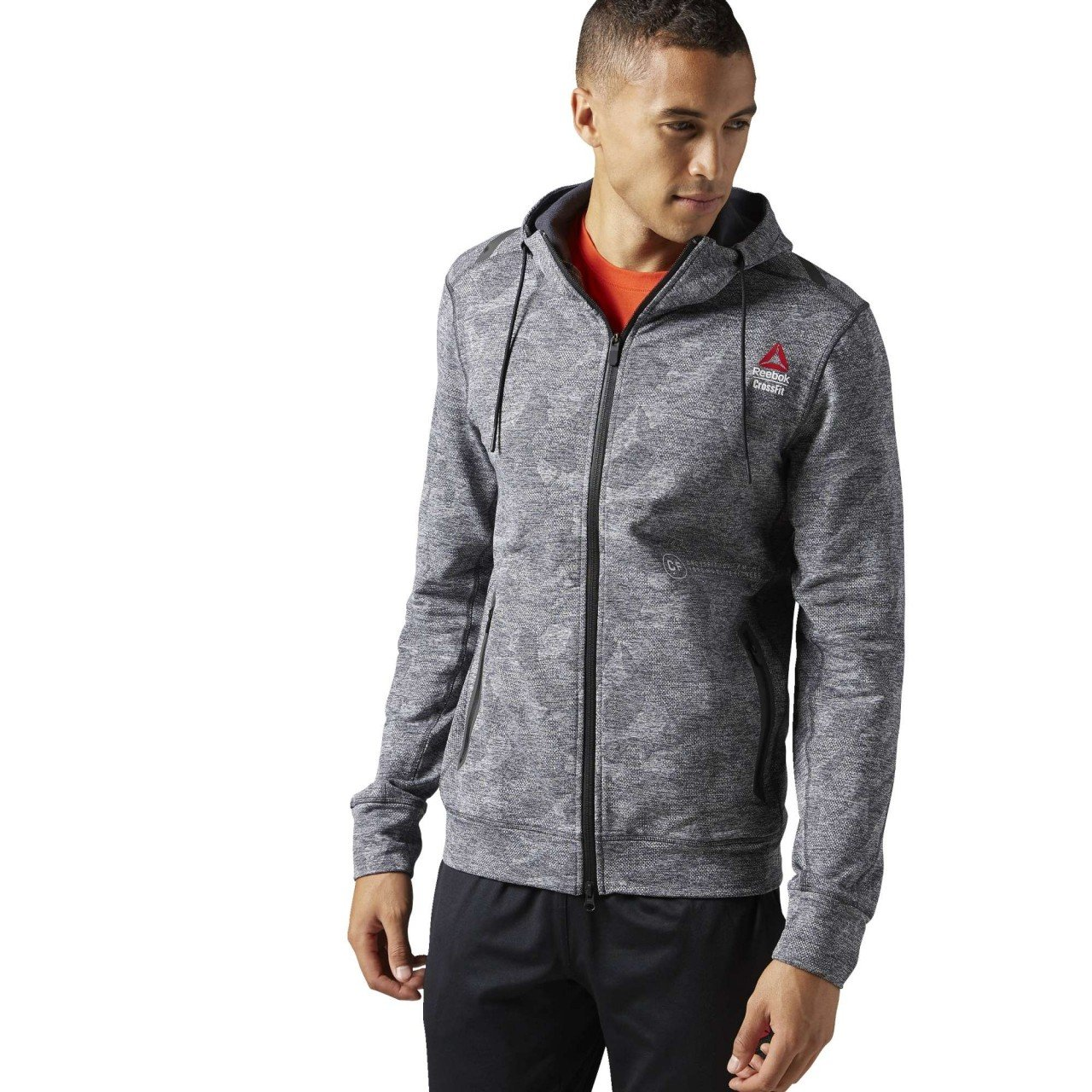 Reebok Herren RCF Fleece Full Zip