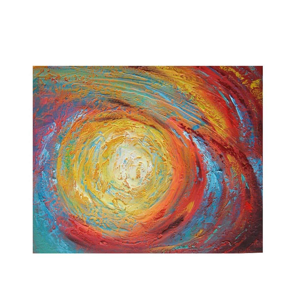 OME&MEI Pintura Al Óleo Pintada Combinación A Mano Combinación Pintada De Bloques De Color Pintura Abstracta Pintura Al Óleo Restaurante Mural Pintado A Mano Cuchillo Pintura-30X50Cm 028f7c