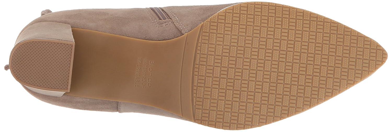 Blondo Women's Tiana Waterproof Ankle Bootie B01L7KTGL0 6 B(M) US Taupe Suede