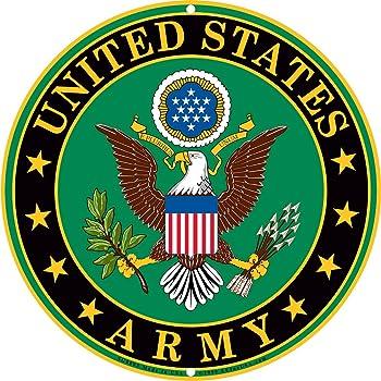 Amazon Army Military Logo Aluminum Metal Sign Us Service
