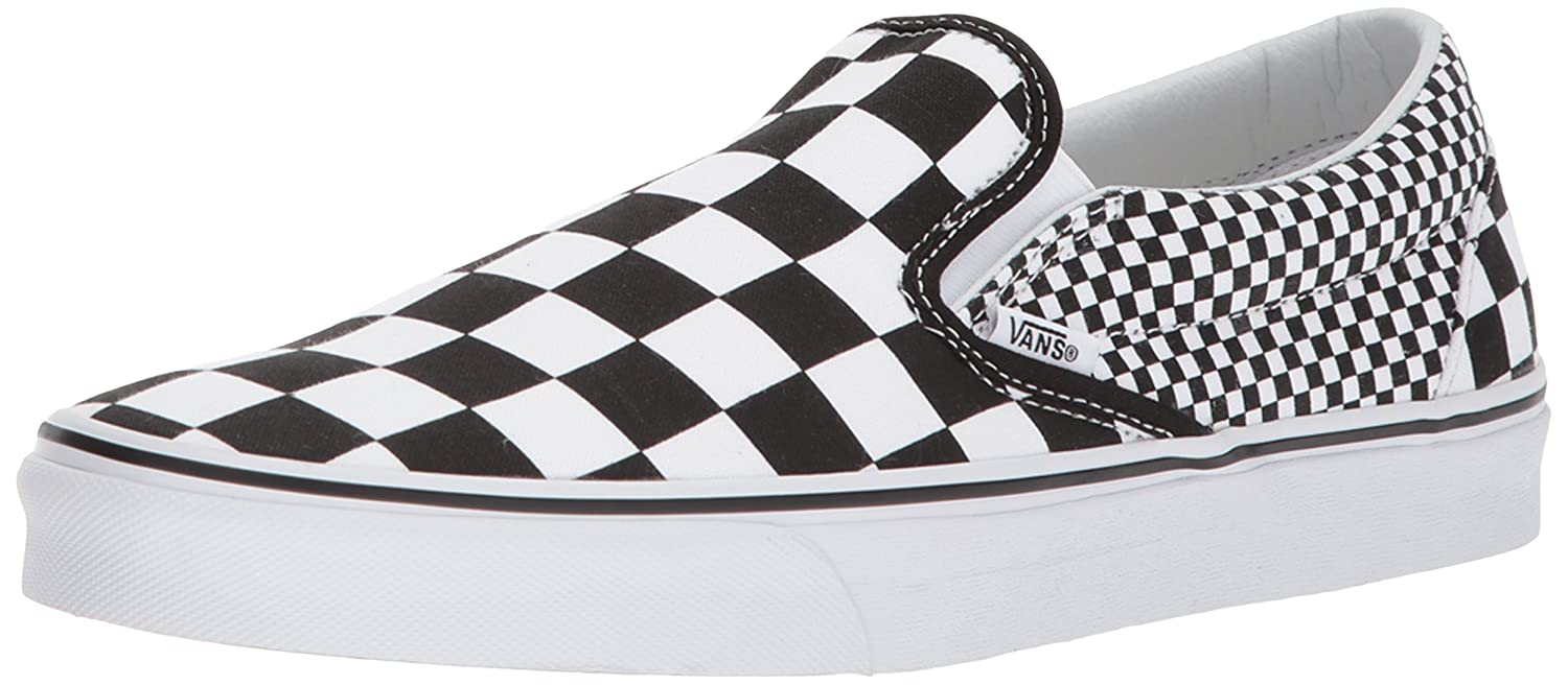 5ed54e32408361 Rubber sole Vans Unisex Classic (Checkerboard) Slip-On Skate Shoe  B07B4T17CP   7 M US ...