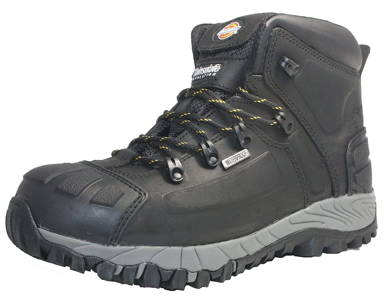 schwarz Dickies Mens Mens Workwear Medway Super Safety S3 Stiefel schwarz FD23310B  billig und hochwertig