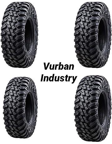 Bundle - Four Tusk TERRABITE Heavy Duty 8-Ply DOT Radial UTV/ATV Tires