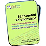 52 Essential Relationships: Emotional Intelligence Game for Home, Work, and School - Builds Communications Skills, Perspectiv
