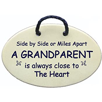 Amazon.com: Side by side or miles apart A GRANDPARENT is ...