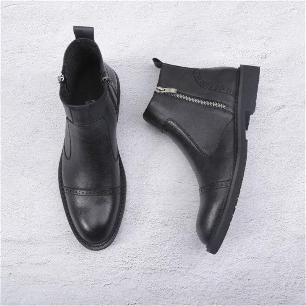 Männer - casual mode mode mode stiefel stiefel stiefel alle mit vintage - chelsea martin,39,schwarz 2fcf76