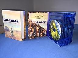 Star Wars: The Complete Saga [9 Blu-rays]: Amazon.de: DVD