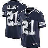 American Football Sportswear Pilang Mens Rugby Jersey Dallas Cowboys Classic Rugby suit Ezekiel Elliott 21#
