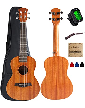 Musical Instruments Ukulele Supply Ammoon Soprano 21 Ukulele Set Spalted Maple Body Rosewood Fingerboard Ukulele 4 Strings Guitar Set With Guitar Accessories With Traditional Methods
