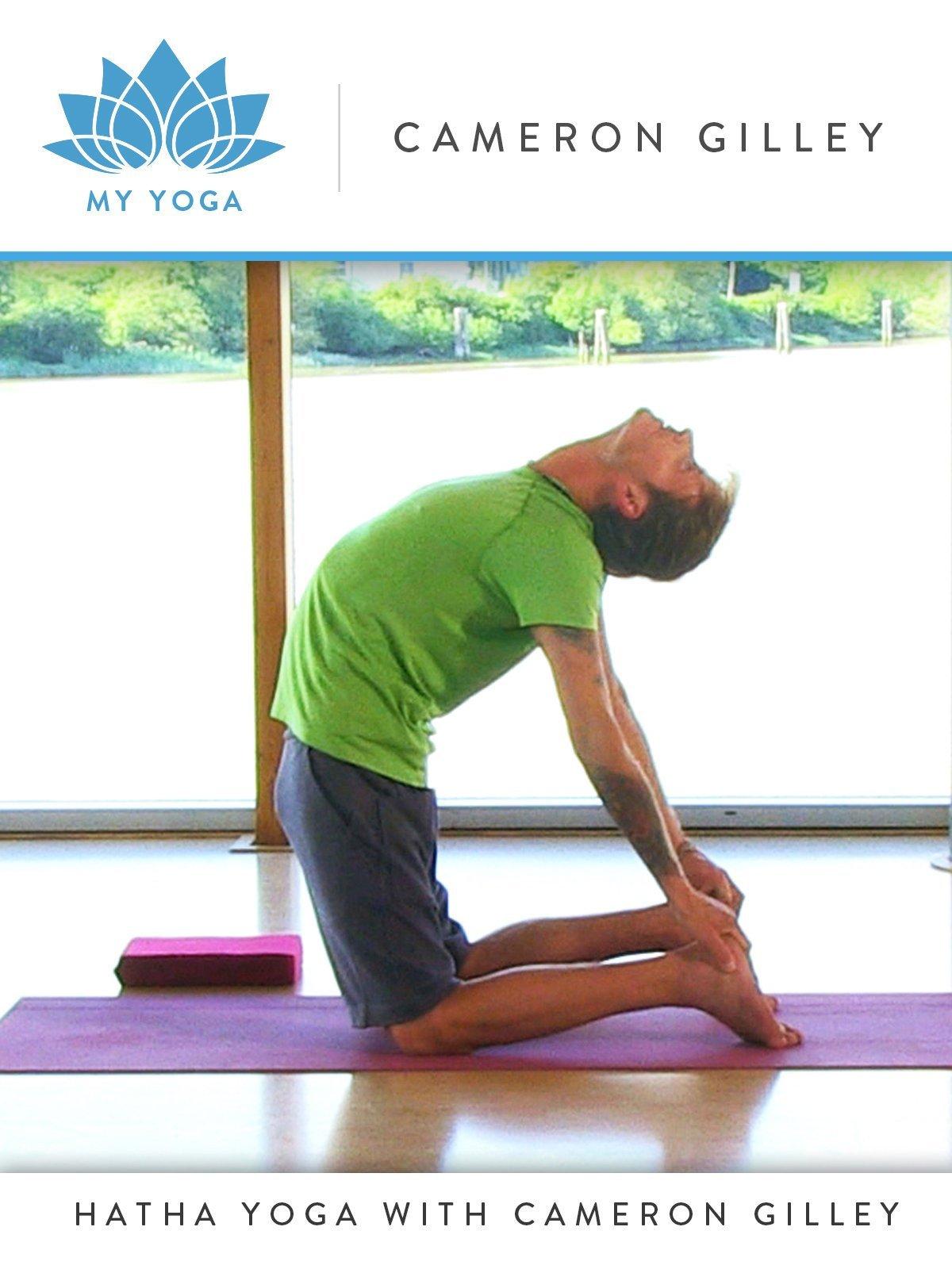 Amazon.com: My Yoga: Hatha Yoga with Cameron Gilley: Gaiam ...