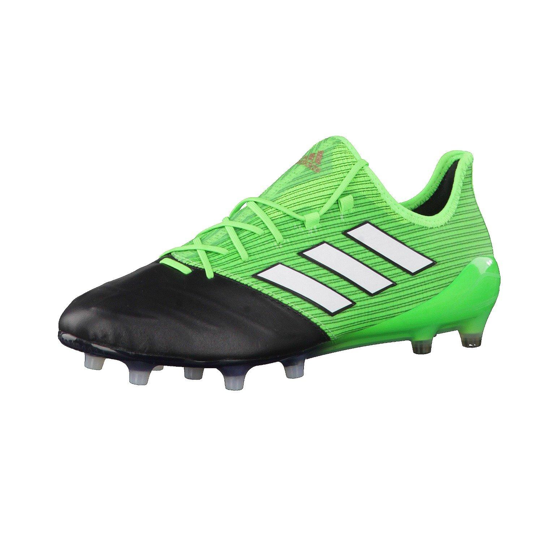 Adidas Herren Ace 17.1 Leder Fg für Fußballtrainingsschuhe, Grün (Verde Versol ftwbla Negbas), 42 EU