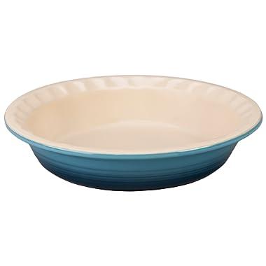Le Creuset Stoneware Pie Pans, 9-Inch, Marine