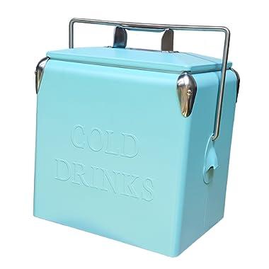Permasteel 14 Quart Portable Picnic Cooler in Turquoise