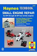 Small Engine Repair 5.5 HP through 20 HP Haynes Techbook (USA) Paperback