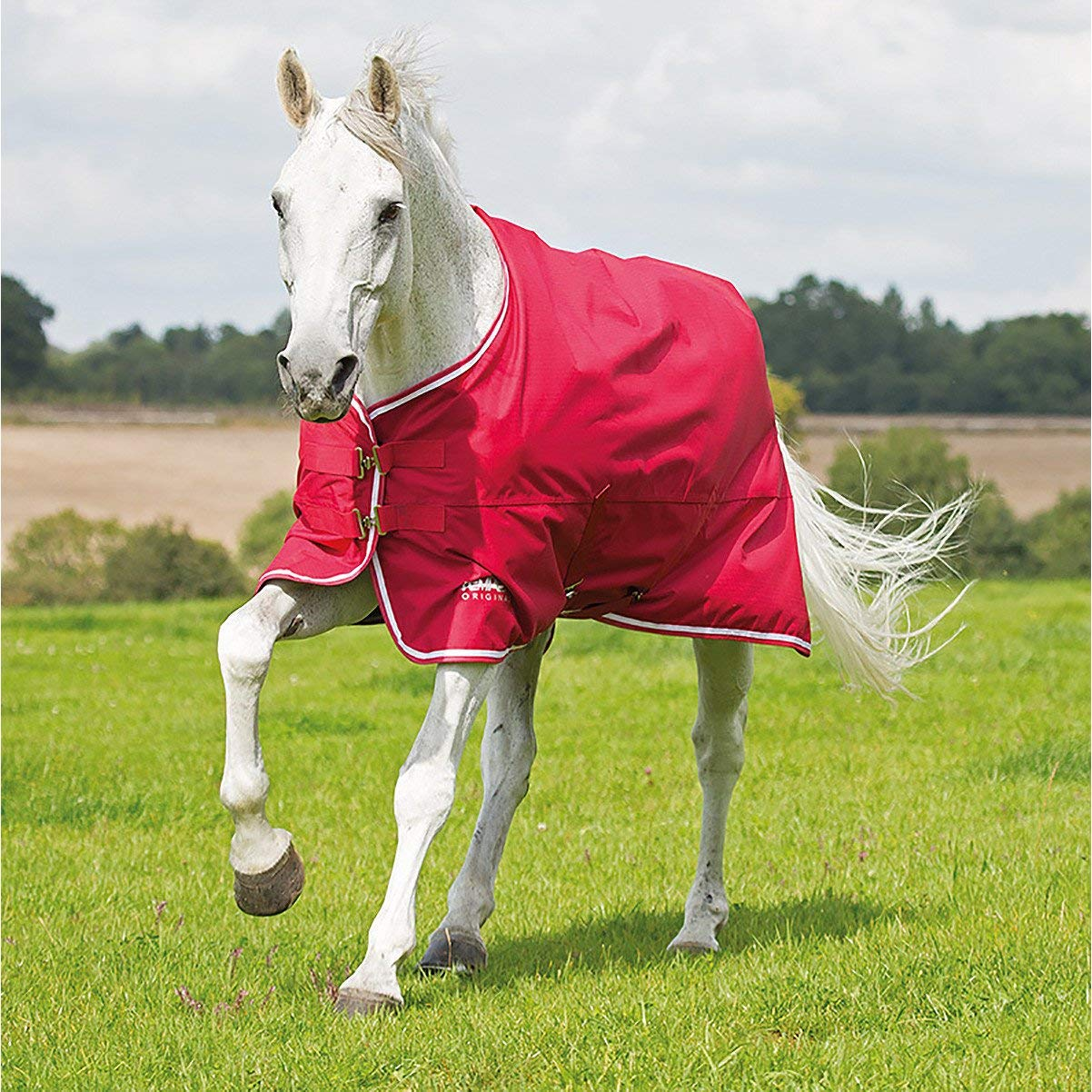 Red 4ft6\ Red 4ft6\ Shires Tempest Original Air Motion Turnout Rug