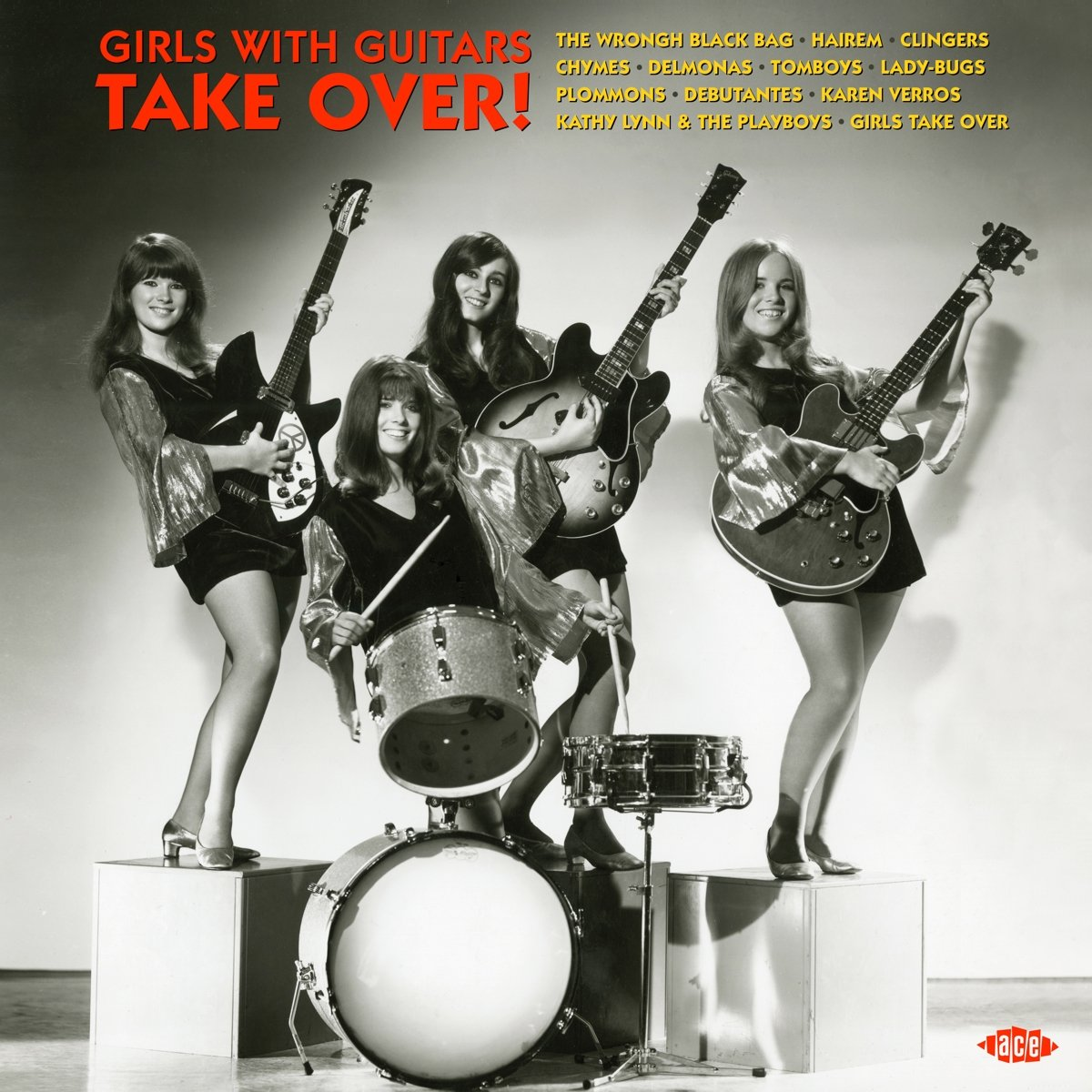 Girls With Guitars Take Over / Various (United Kingdom - Import)