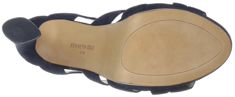 Kenneth Cole Cole Kenneth New York Nealie, Plateau, Sandale mit Absatz Damen Marine Suede cb516c