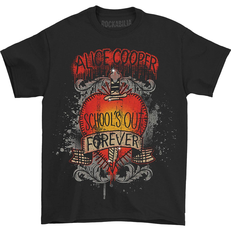 Alice Cooper S Schools Out Dagger Tshirt Black