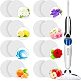 Maitys Replacement Steam Mop Scent Discs Fragrance Scented Pads 8 Different Fragrance Discs Compatible with Bissell Powerfres