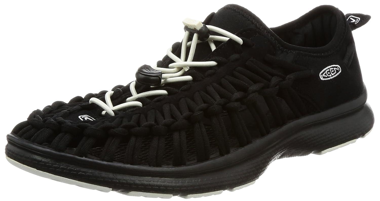 Keen Uneek O2 M, Zapatillas de Gimnasia para Hombre 8 D(M) US|Negro/Blanco