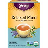 Yogi Tea - Relaxed Mind - Promotes Tranquility - 16 Count (Pack of 6)