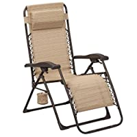 Deals on Hampton Bay Zero Gravity Sling Outdoor Chaise Lounge Chair