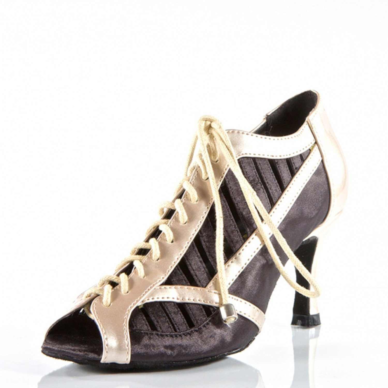 - YFF Cadeaux Femmes Dance Danse Danse Latine Dance Tango Chaussures 8cm,noir,39