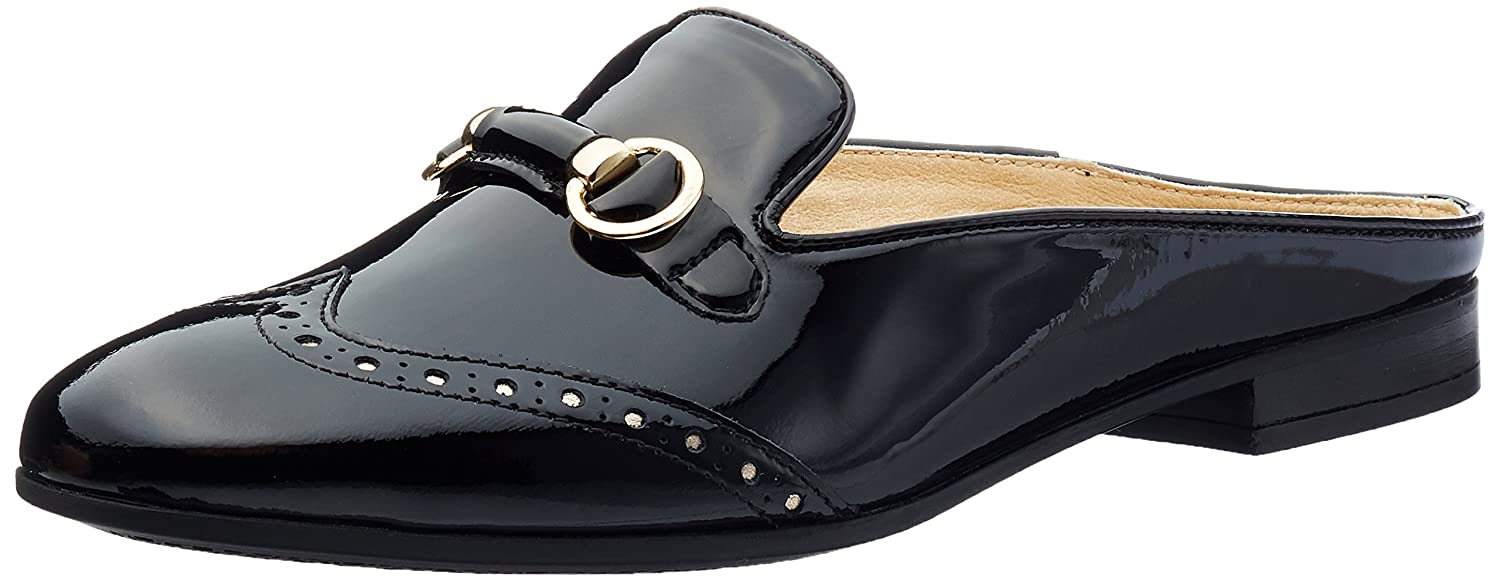 Geox D Marlyna e, Pantofole Donna Nero (Black)