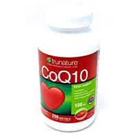 Trunature Coenzyme CoQ10 100 MG - 250 Softgels