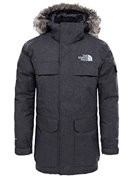 6a6706df35 ... official store the north face m mcmurdo parka veste parka pour homme xs  gris foncé tfn