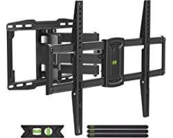 USX MOUNT TV Wall Mount, Full Motion TV Mount for Most 37-75 inch TVs, TV Bracket Dual Swivel Articulating Arms Extension Til