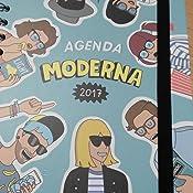 Grupo Erik Editores Moderna De Pueblo - Agenda 2017 Semana Vista, 15.5 x 19 cm