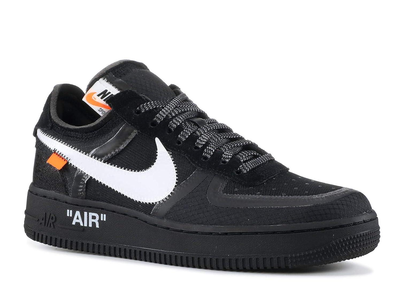 schwarz Nike Air Force 1 Low x Off Weiß - schwarz Weiß-Cone-schwarz Trainer