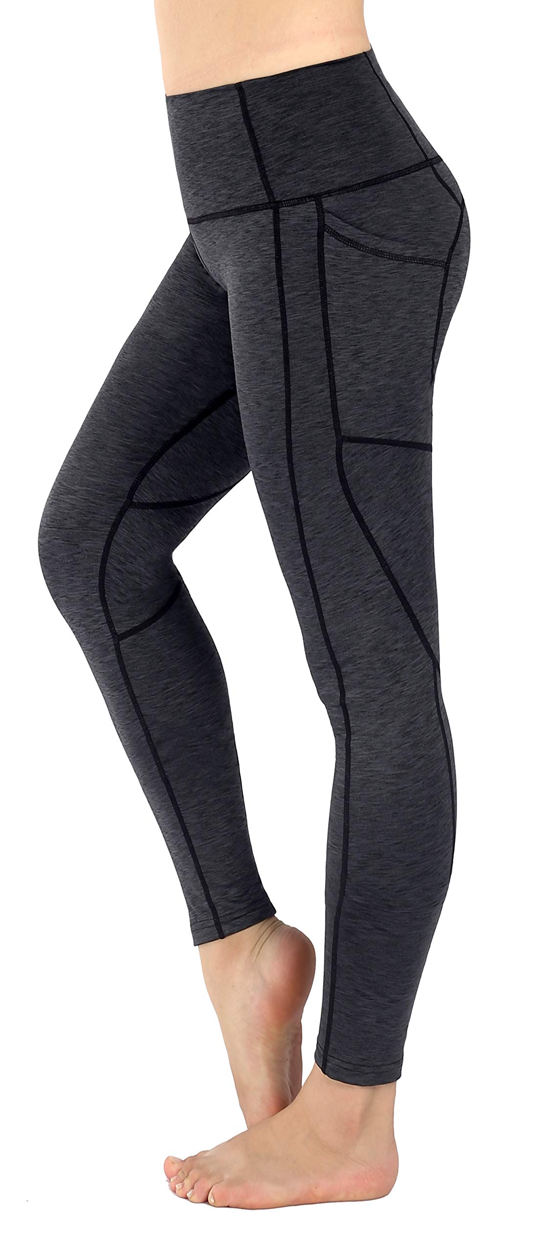 c37f0cf0803e Sugar Pocket Legging de Sport Femme Stretch Yoga Jogging Fitness Running  Taille Haute avec Poche product