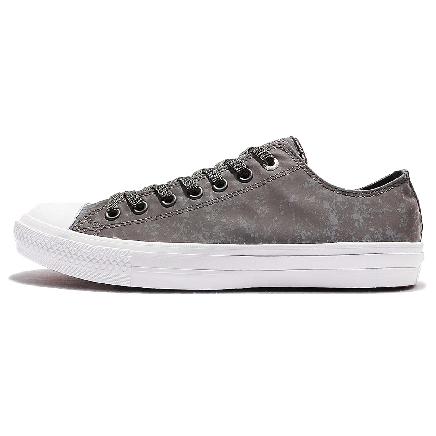 Converse Chuck Taylor All Star Core Ox B076WX8TTP 10.5 B(M) US Women / 8.5 D(M) US Men|Shale Grey/Pure Silver/White