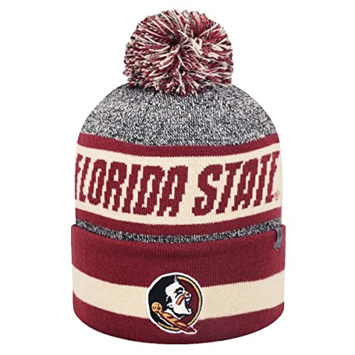 new styles 85db8 be89f ... switzerland florida state seminoles ncaa top of the world cumulus  striped cuffed knit hat 6d217 49f3a