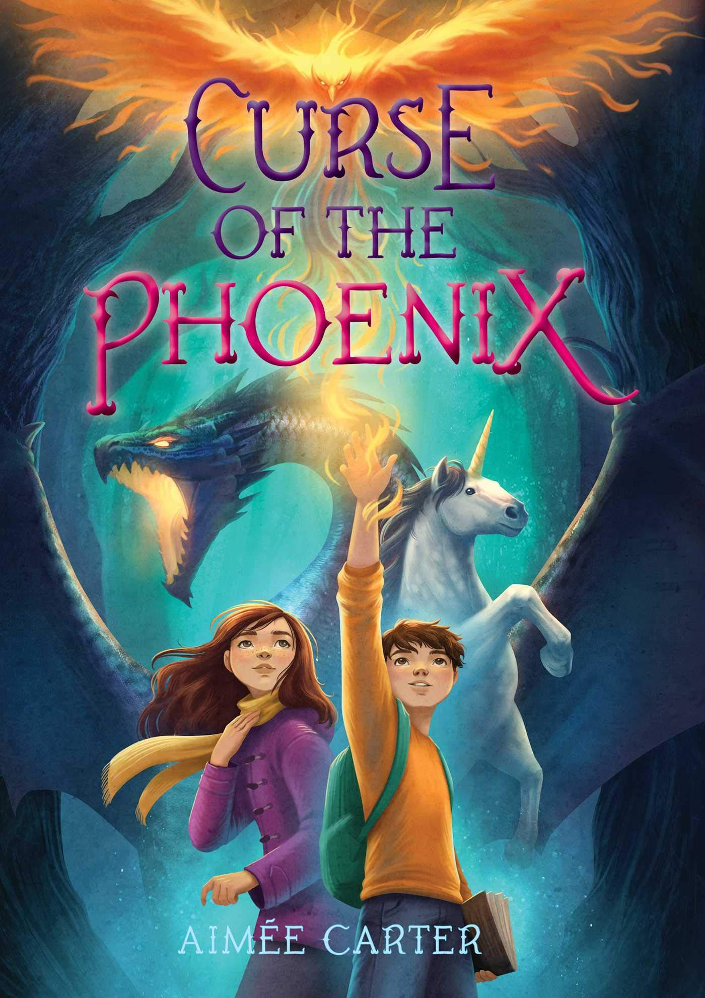 Curse of the Phoenix: Carter, Aimée: 9781534478442: Amazon.com: Books
