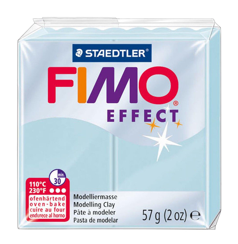 Staedtler - Fimo Effect - Pain Pâte à Modeler 57 g Effet Pierre Précieuse Bleu Cristal product image