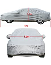 Vinteky Fully Waterproof Car Covers - Breathable - Cotton Lined - Heavy Duty (S-4.00 * 1.60 * 1.20M)