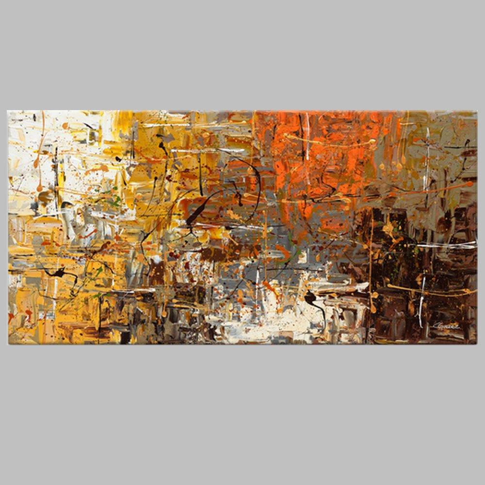 tienda de bajo costo 70x140cm B QIAISHI Cuadro sin Marco Pintura Abstracta Pinturas al al al óleo sobre Lienzo Hecho a Mano Colorido Arte de la Parojo Arte Moderno para la decoración casera  muchas concesiones
