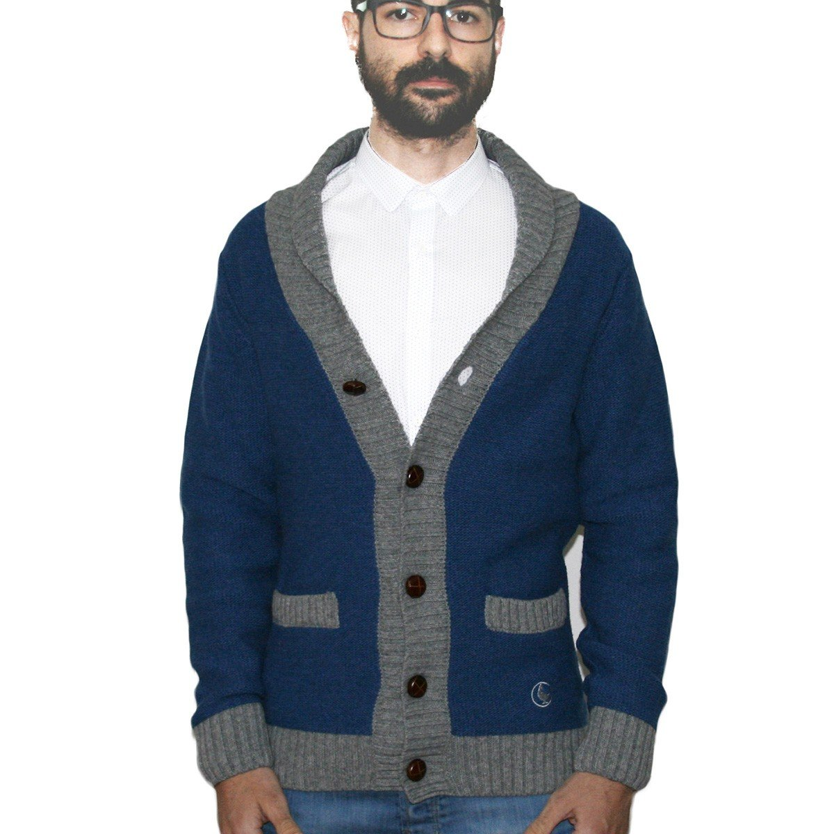 El Ganso Clothes Cárdigan Punto Azul de