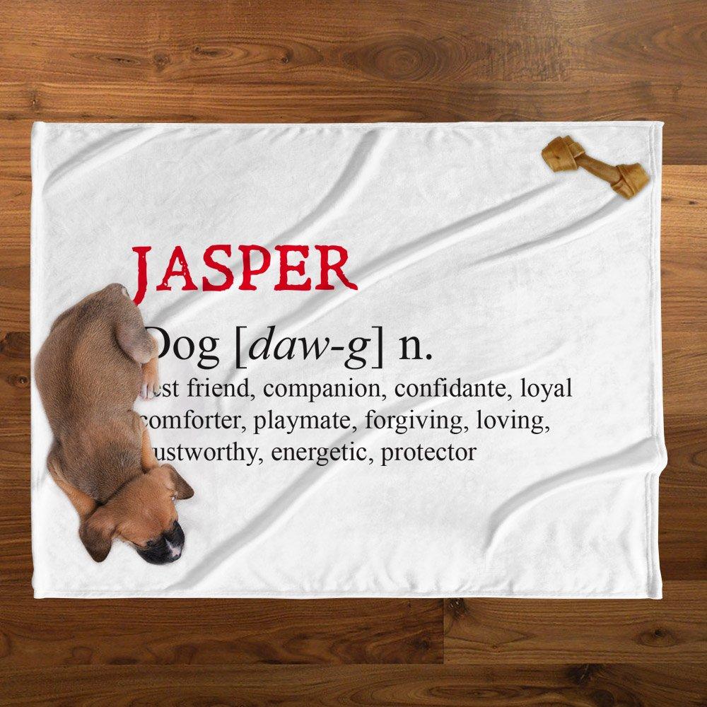 Personalizzato diretto Jasper personalizzato peluche coperta
