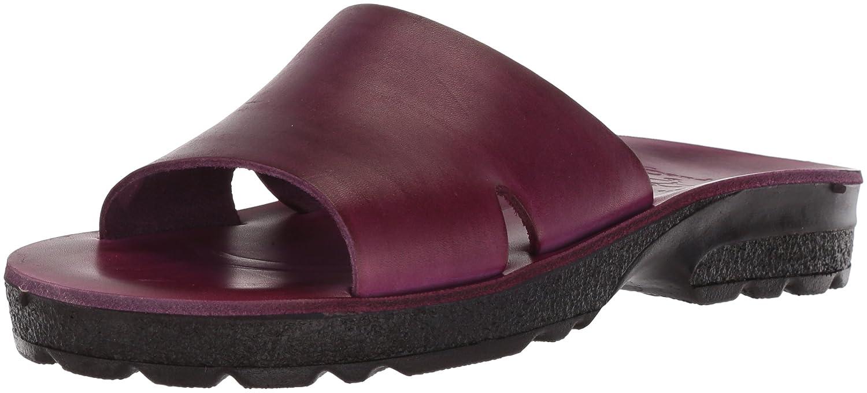 Jerusalem Sandals Women's Bashan Molded Footbed Slide Sandal B075KY38ND 36 Medium EU (5-5.5 US)|Violet