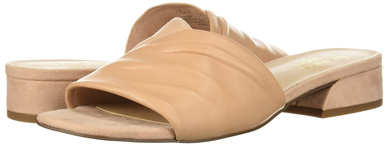 Franco Sarto Women's Frisco Slide Sandal B0771Y3FTW 5.5 B(M) US|Peach