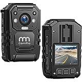 CammPro I826 1296P HD Police Body Camera,128G Memory,Waterproof Body Worn Camera,Premium Portable Body Camera with Audio Reco
