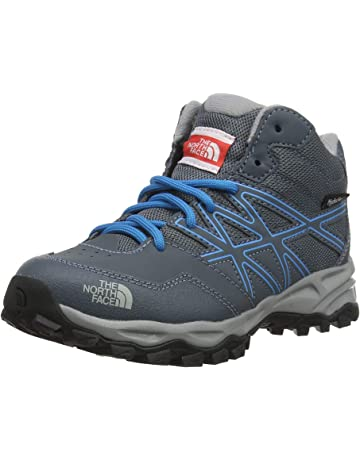 a1b11b2cab8 THE NORTH FACE Unisex Kids  Hedgehog Hiker Mid Waterproof High Rise Hiking  Boots