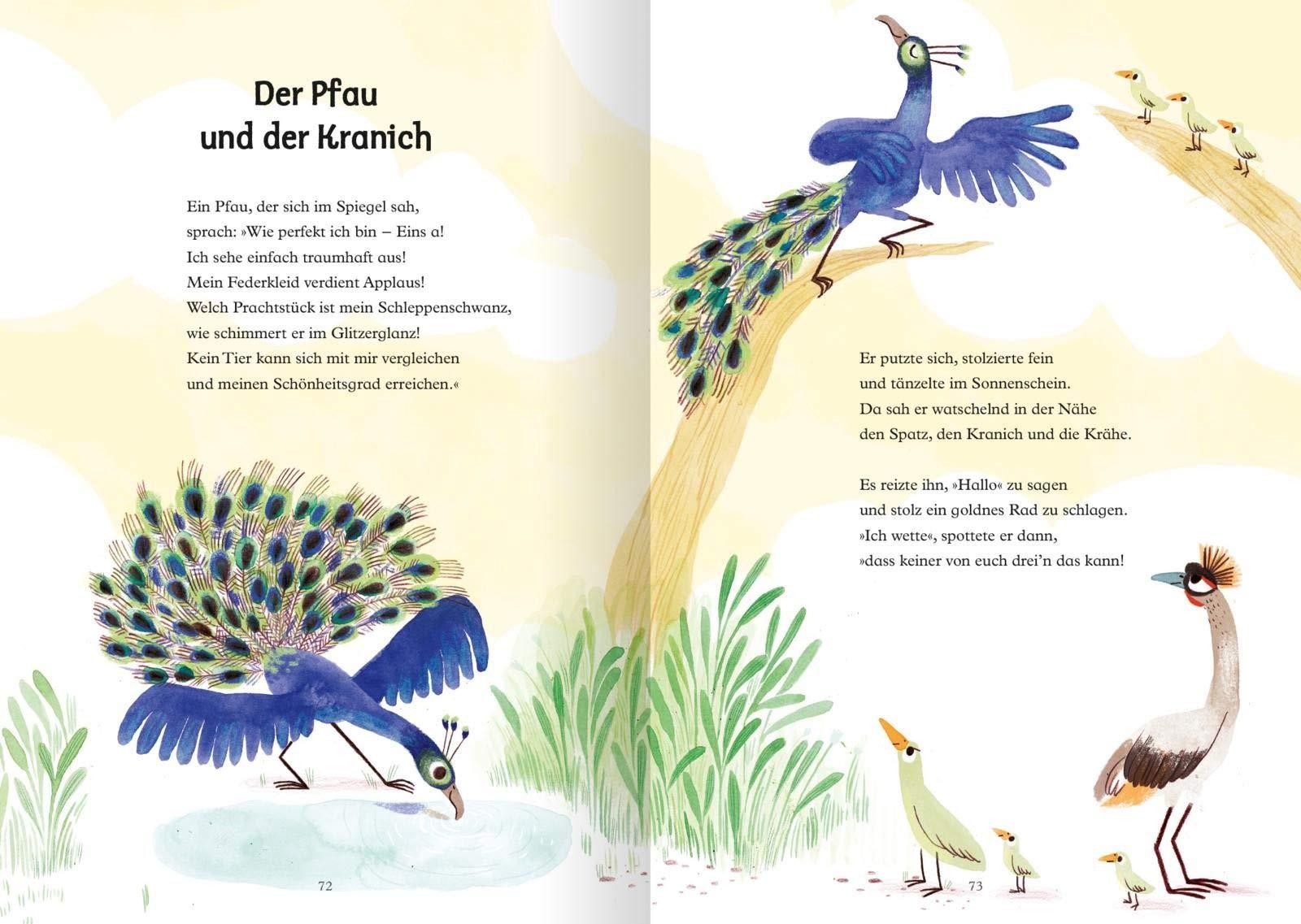Asops Tierfabeln Amazon De Asop Woollard Elli Altes Marta Boese Cornelia Bucher