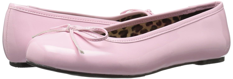 Pleaser Damen Anna-01 (B. Geschlossene Ballerinas Pink (B. Anna-01 Pink Pat) bf1f44