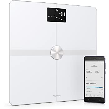 Withings Body Cardio Scale >> Amazon.com: Nokia Body+ - Body Composition Wi-Fi Scale, White: Health & Personal Care