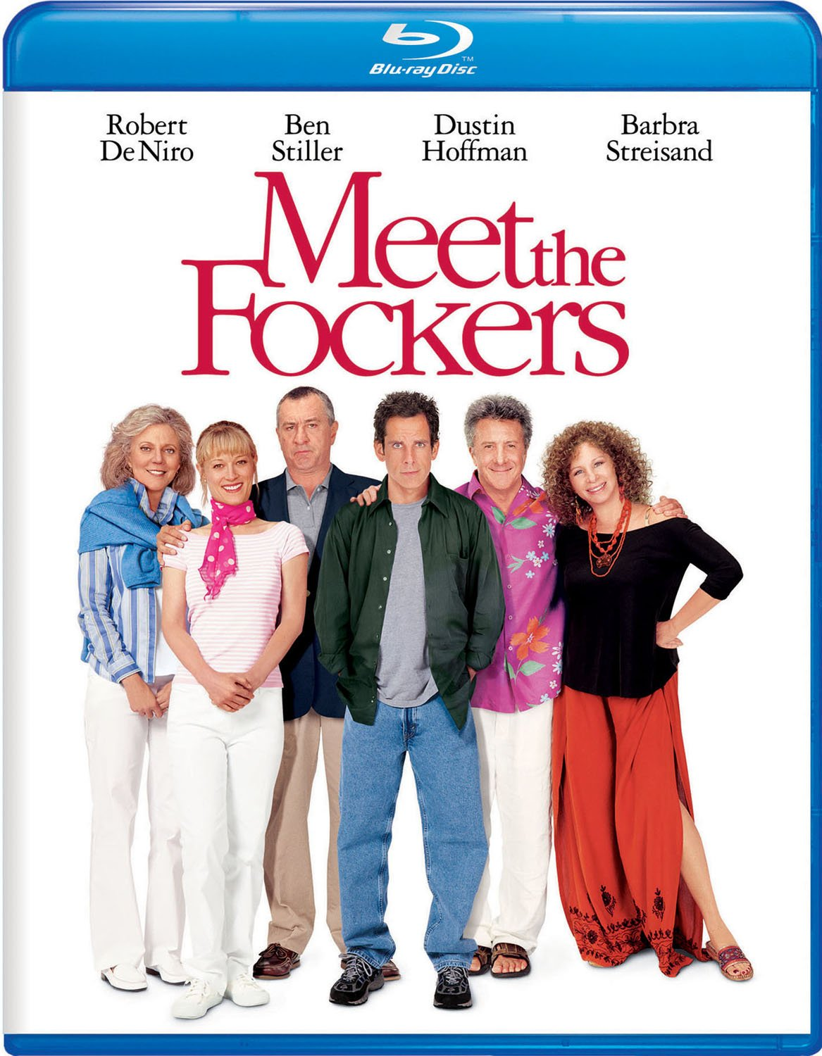 Blu-ray : Meet The Fockers (Subtitled, Dubbed, Dolby, AC-3, Digital Theater System)